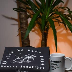 Pack Mug & Sweat « Le jour le plus longe » gris anthracite, Anfibi