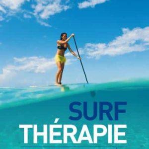 Livre Surf thérapie, se soigner au contact de l'océan de Guillaume Barucq