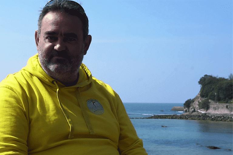 Portrait de longeur : Jérome Roudey, la marche aquatique, une necessité!