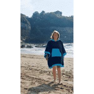 Poncho Anfibi en Coton Bio – modèle «Original» Unisexe