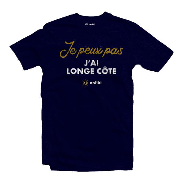 tee-shirt longe-côte